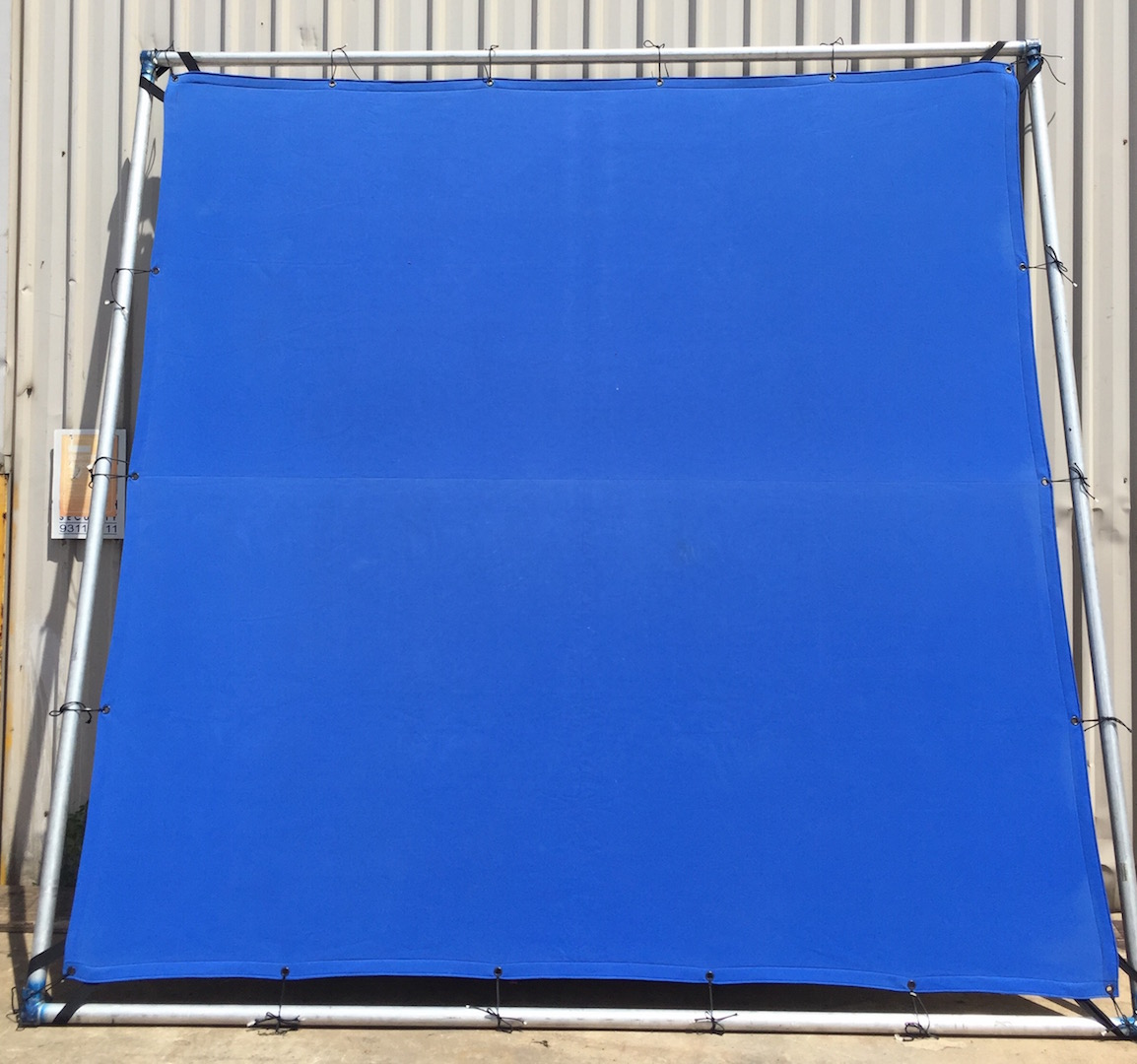 10' x 10' Blue Screen for Hire